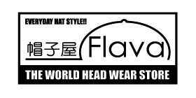 帽子屋Flavaのロゴ画像